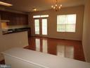 Light Filled Dining Kitchen Area!! - 12946 CLARKSBURG SQUARE RD, CLARKSBURG