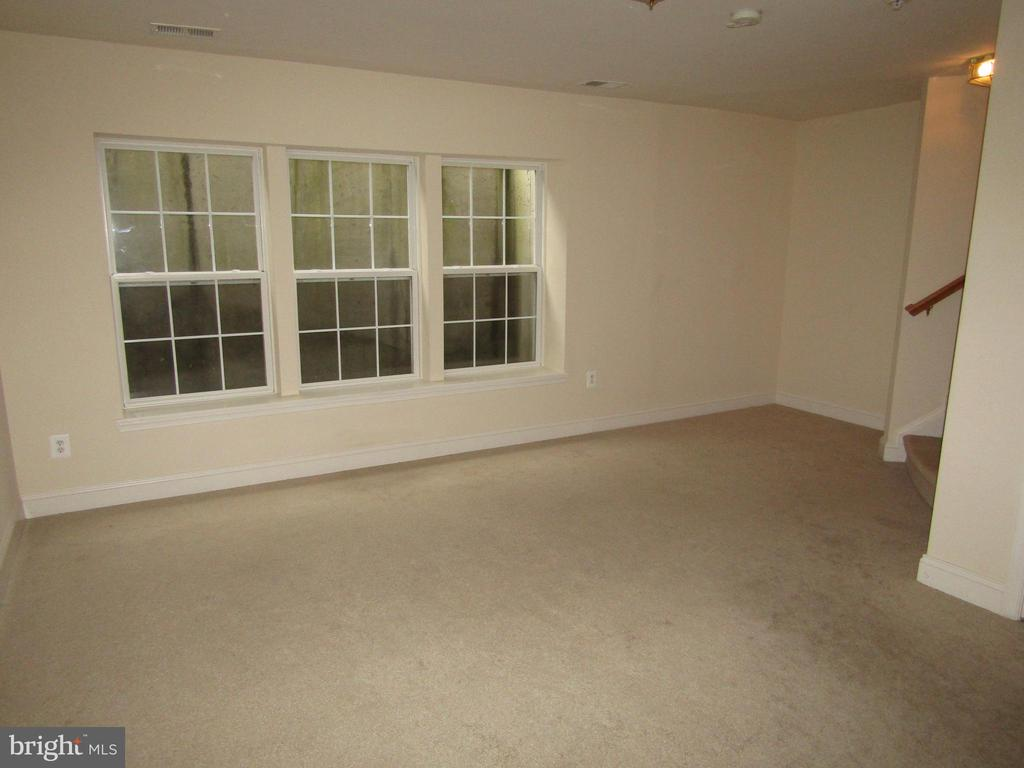 Spacious Lower Level Family/Exercise  Room - 12946 CLARKSBURG SQUARE RD, CLARKSBURG