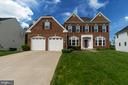 Stately brick front Colonial - 31 LIBERTY KNOLLS DR, STAFFORD