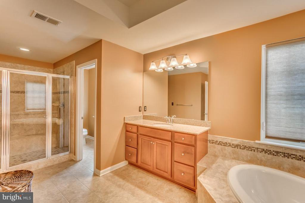 Soaking tub & separate, large shower - 31 LIBERTY KNOLLS DR, STAFFORD