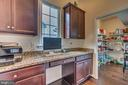 Dream pantry in office/homework nook - 31 LIBERTY KNOLLS DR, STAFFORD