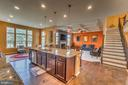 Kitchen wonderfully open to family room - 31 LIBERTY KNOLLS DR, STAFFORD
