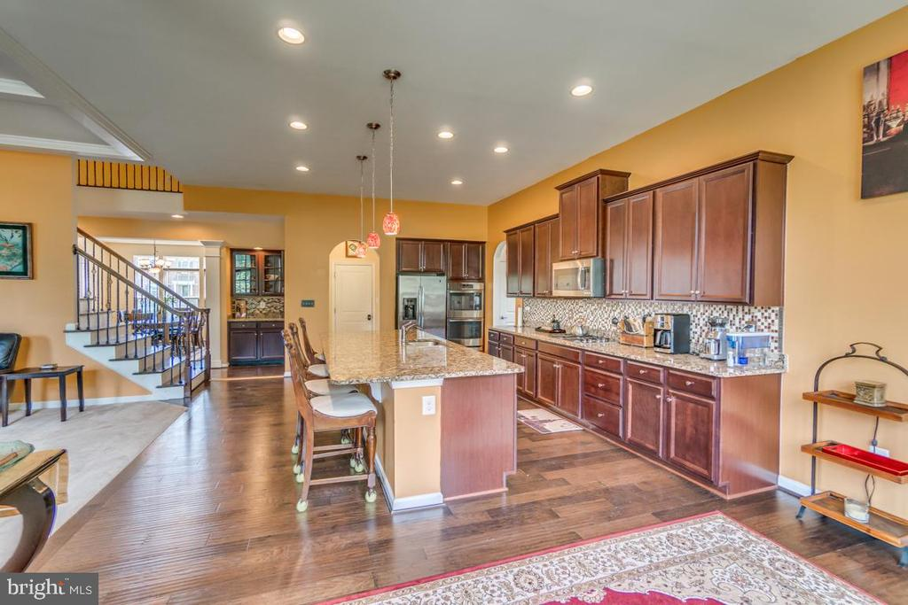 Granite counters & upgraded SS appliances - 31 LIBERTY KNOLLS DR, STAFFORD