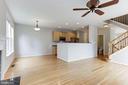 Family Room off Kitchen - 47831 SCOTSBOROUGH SQ, STERLING