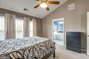 Soaring Ceilings in Master - 20980 KITTANNING LN, ASHBURN