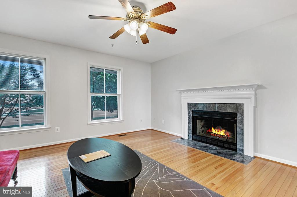 Living room with street view - 1001 MONTGOMERY ST, LAUREL