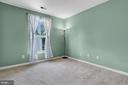 Second bedroom with rear view - 1001 MONTGOMERY ST, LAUREL