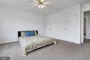 Owner's suite, 2 walk in closets - 1001 MONTGOMERY ST, LAUREL