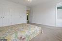 Owner's suite with bath - 1001 MONTGOMERY ST, LAUREL