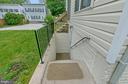 Walk down to basement entrance - 1001 MONTGOMERY ST, LAUREL