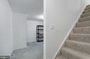 Stairs up from basement - 1001 MONTGOMERY ST, LAUREL