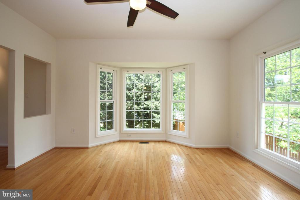 Dining Room with Bay Window - 1 KIMBERLY DR, STAFFORD