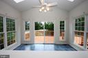 Sun Room w/Vaulted Ceiling & Skylights - 1 KIMBERLY DR, STAFFORD