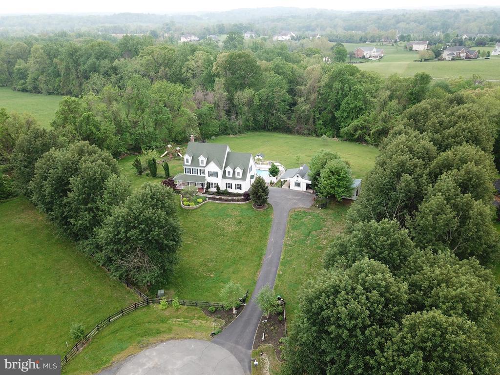 Aerial View - Front - 17969 BATTLE PEAK CT, HAMILTON
