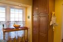 Breakfast area - 14069 SADDLEVIEW DR NW, NORTH POTOMAC