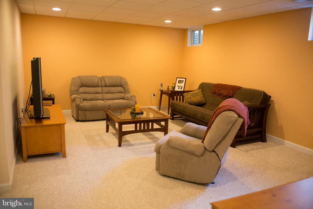 Basement Family room - 14069 SADDLEVIEW DR NW, NORTH POTOMAC