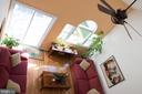 Aerial view of living area - 14069 SADDLEVIEW DR NW, NORTH POTOMAC