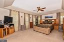 Master with extra windows and surprise storage - 1808 GREYSENS FERRY CT, POINT OF ROCKS
