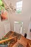 Bright entry 2 story foyer w/ hardwoods - 1808 GREYSENS FERRY CT, POINT OF ROCKS