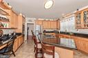 Never ending kitchen, with built in desk space - 1808 GREYSENS FERRY CT, POINT OF ROCKS