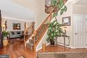 2 story entry foyer - 1808 GREYSENS FERRY CT, POINT OF ROCKS