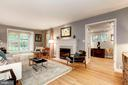 Elegant Living Room - 4810 ESSEX AVE, CHEVY CHASE