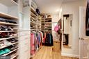 Big Walk-in Closet - 4810 ESSEX AVE, CHEVY CHASE