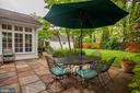 Pretty Stone Patio - 4810 ESSEX AVE, CHEVY CHASE