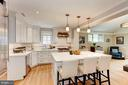 Island with Breakfast Bar - 4810 ESSEX AVE, CHEVY CHASE