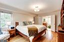 Master Bedroom with En Suite Bathroom - 4810 ESSEX AVE, CHEVY CHASE