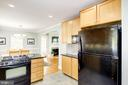 Kitchen to dining - 3103 CREST AVE, CHEVERLY