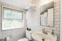 Just renovated full bathroom on upper level - 3103 CREST AVE, CHEVERLY