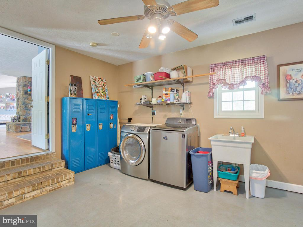 Laundry off of kitchen area w/exterior door ~ - 87 LONESOME FLATS RD, FRONT ROYAL