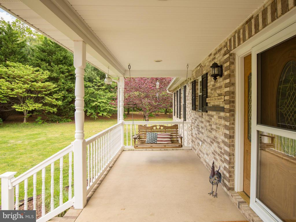 Inviting front porch ~ - 87 LONESOME FLATS RD, FRONT ROYAL