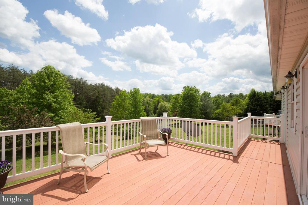Two rear decks to enjoy! - 87 LONESOME FLATS RD, FRONT ROYAL