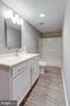 Basement Bath - 8741 SHADOW LAWN CT, ANNANDALE