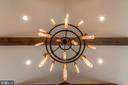 Family Room Light Fixture - 1674 CHAIN BRIDGE RD, MCLEAN
