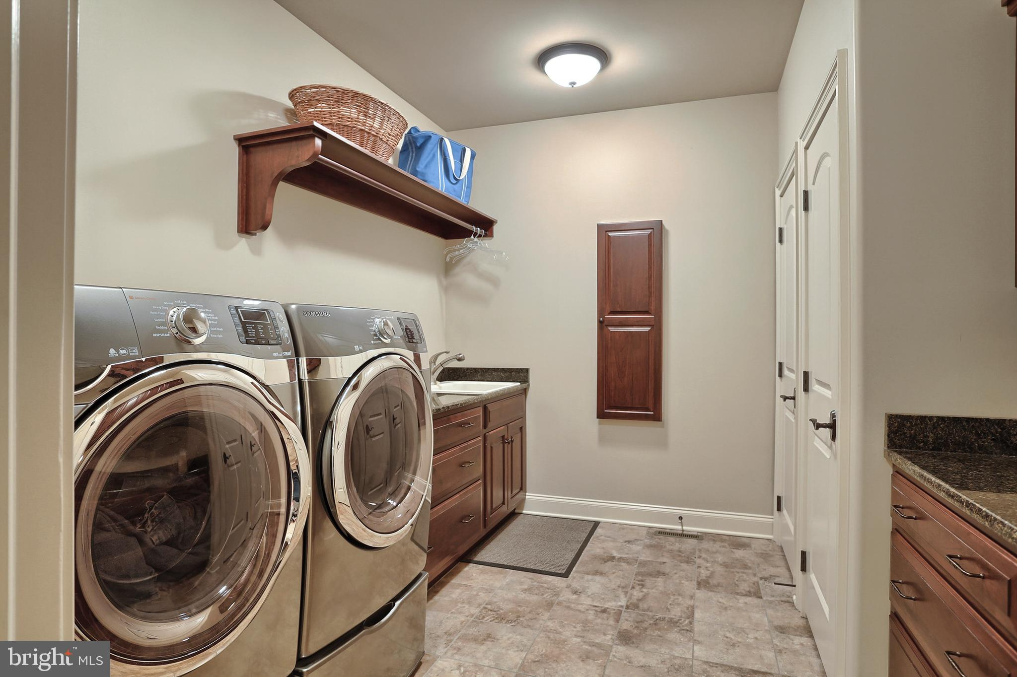 10x11 laundry on main w cabinetry and more