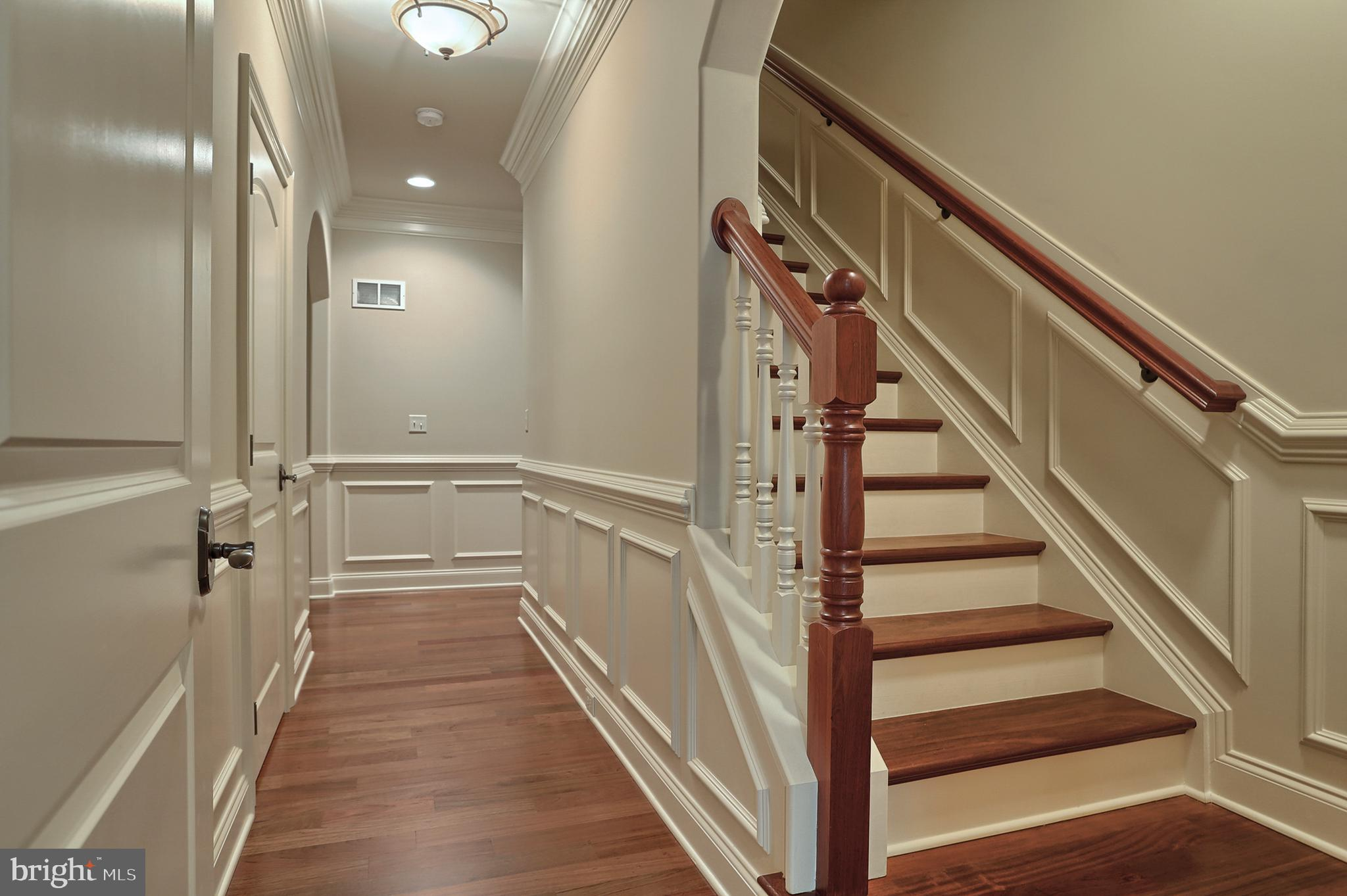 Staircase to guest suite