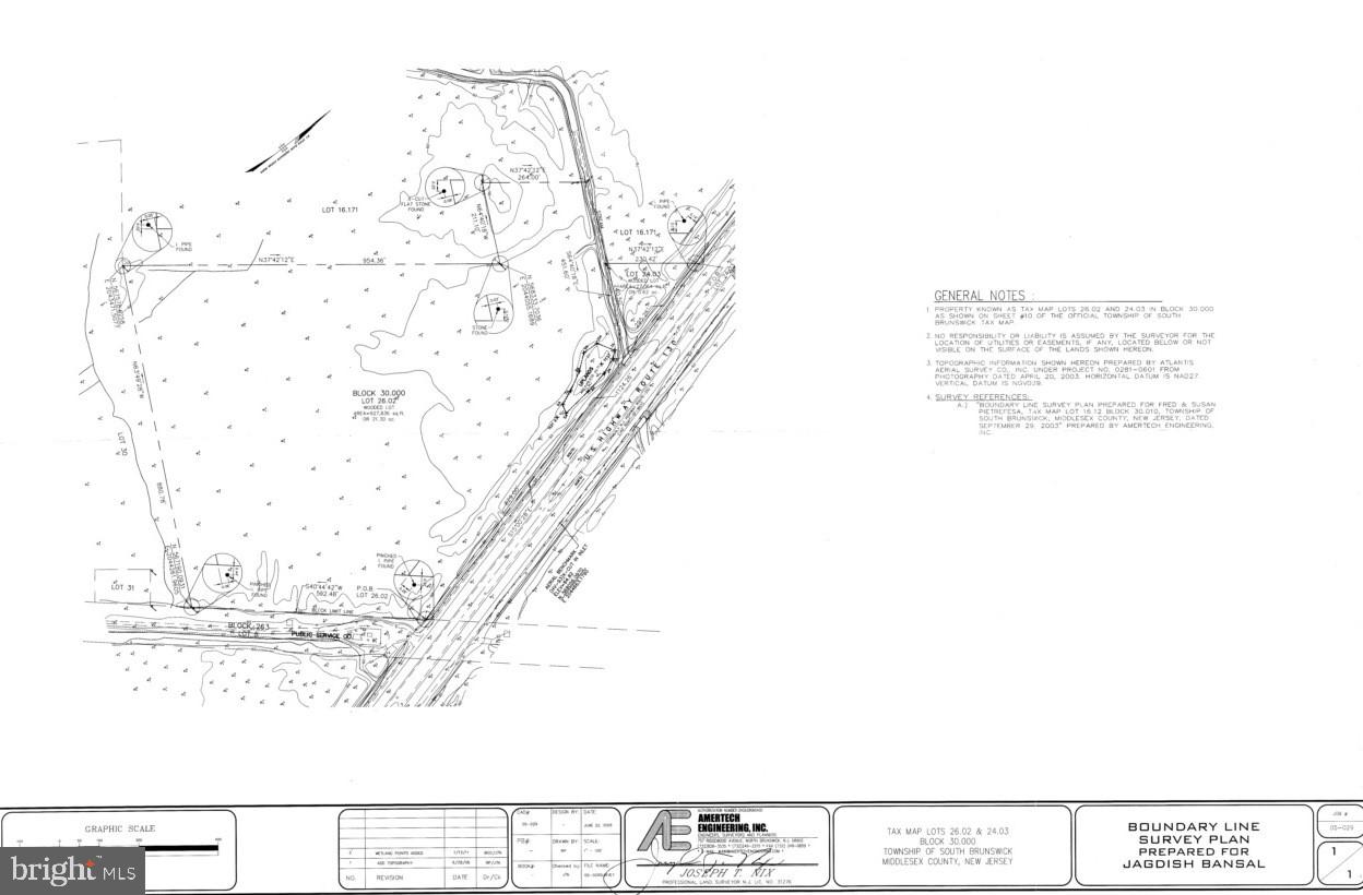 Land for Sale at Middlesex, New Jersey 08846 United States