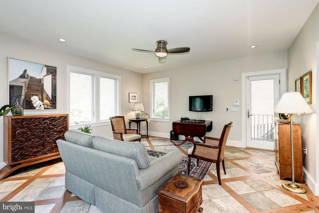 Opens to Family Room - 4423 SPRINGDALE ST NW, WASHINGTON