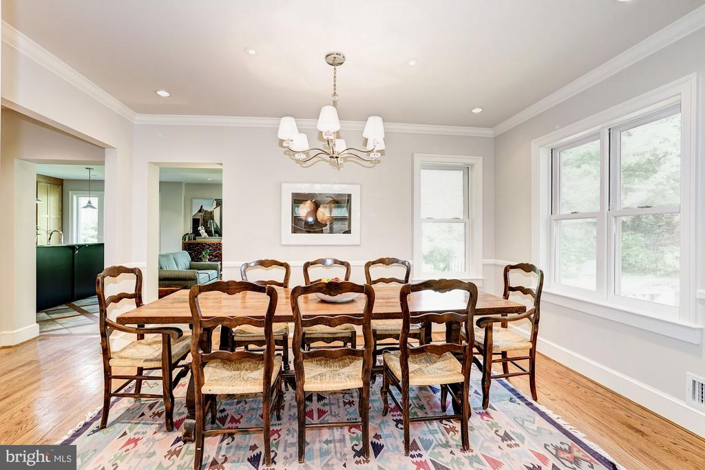 Formal Dining Room - 4423 SPRINGDALE ST NW, WASHINGTON