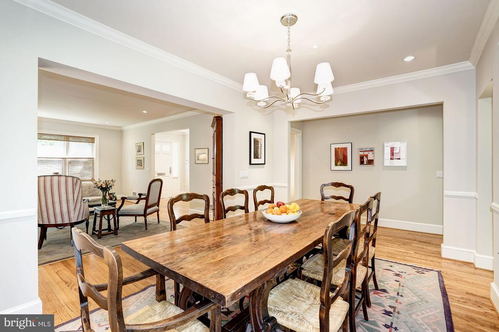 Dining Room - 4423 SPRINGDALE ST NW, WASHINGTON