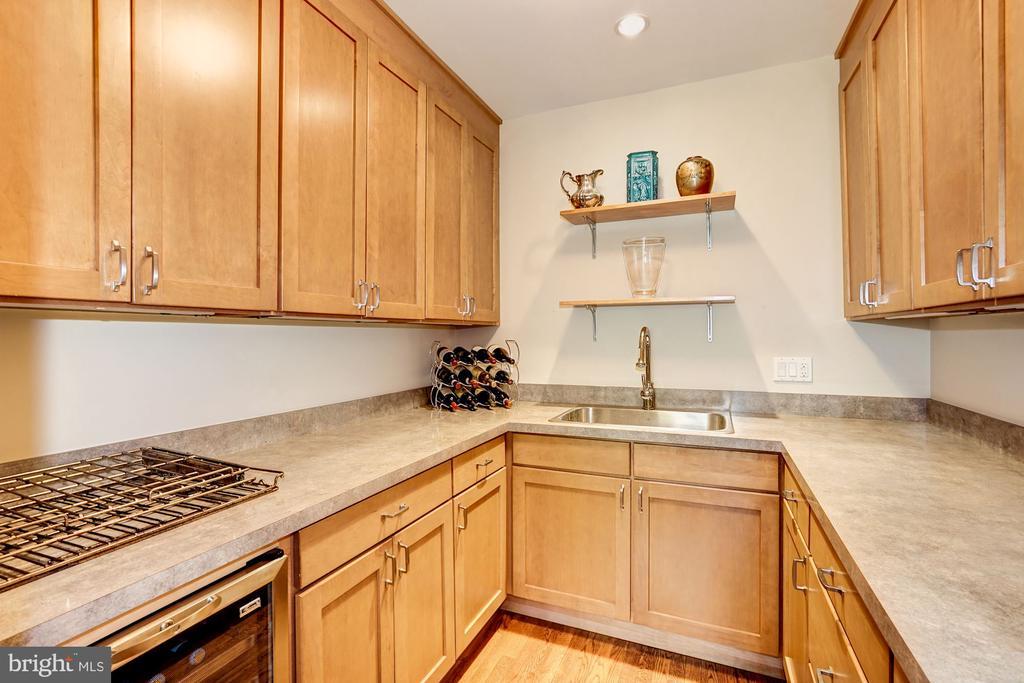 Fantastic pantry area off of kitchen - 4423 SPRINGDALE ST NW, WASHINGTON
