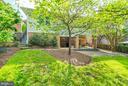 Serene garden - 4423 SPRINGDALE ST NW, WASHINGTON