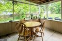 Screened in porch - 708 EDWARDS FERRY RD NE, LEESBURG