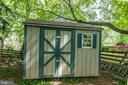 Shed in backyard - 708 EDWARDS FERRY RD NE, LEESBURG