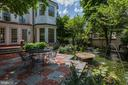 Garden with Pond - 3147 P ST NW, WASHINGTON