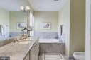 Master Bath - 3147 P ST NW, WASHINGTON