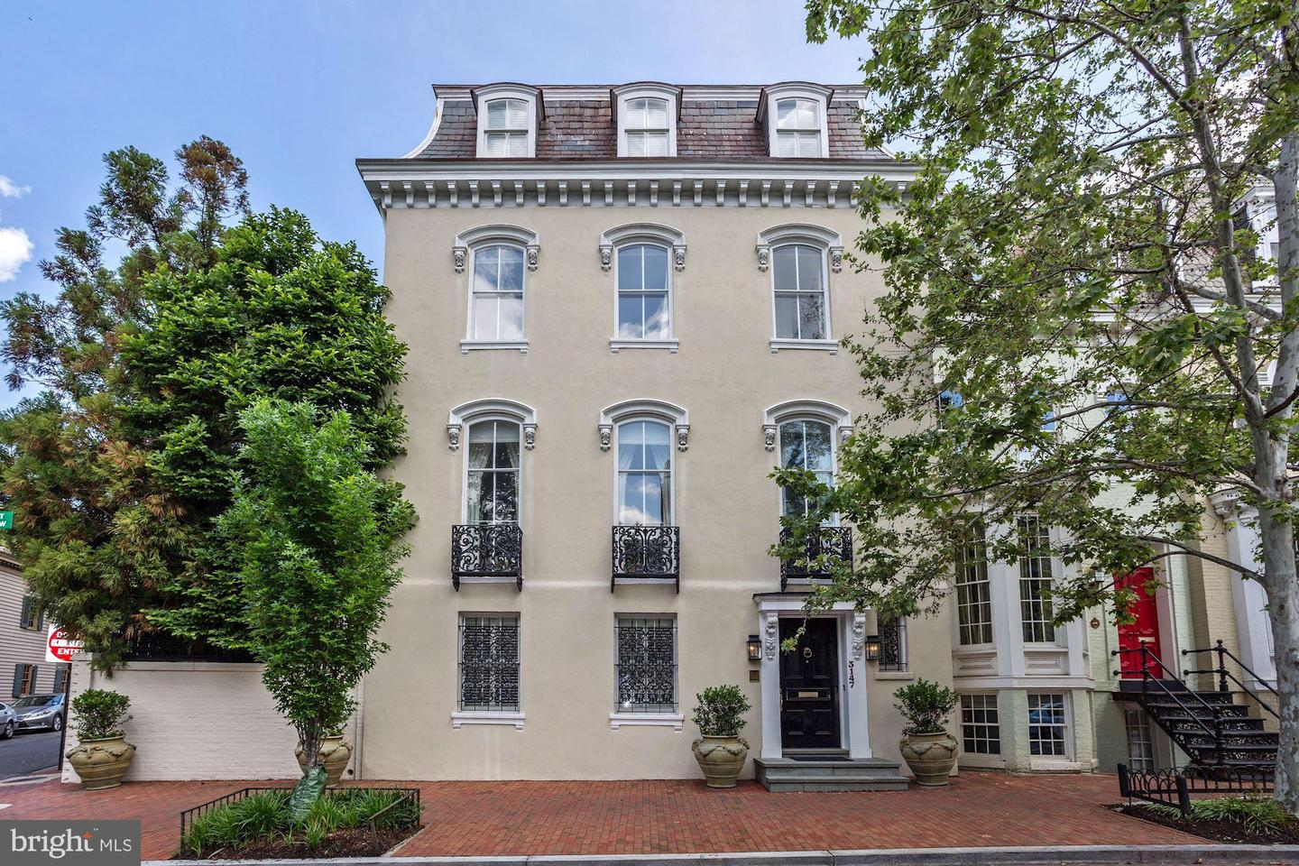 Single Family Home for Sale at 3147 P St NW Washington, District Of Columbia 20007 United States